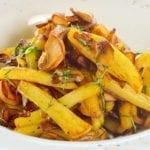 Картофель жаренный с вешенками | Fried potatoes with Oyster mushrooms