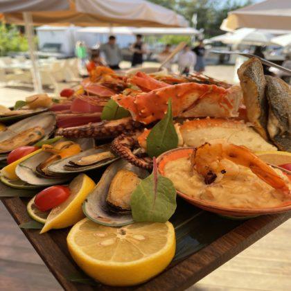 Гриль ассорти из морепродуктов и рыбы | Mixed fish and seafood grill