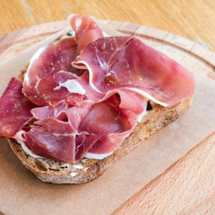 NEW Брускетта с пармской ветчиной | Bruschetta with Parma ham
