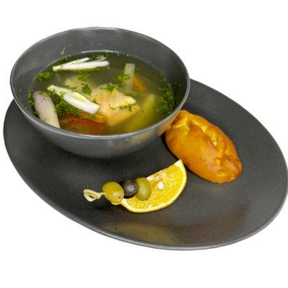 Уха по-царски | King's fish soup