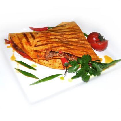 Мексиканская кесадилья с курицей | Mexican Quesadilla with chicken