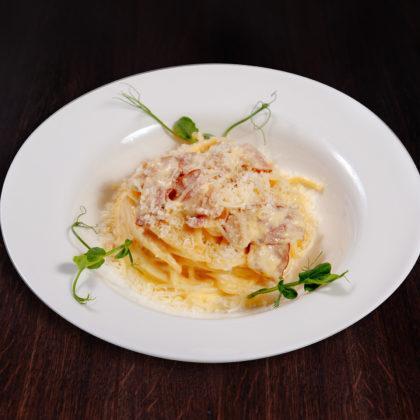 Спагетти «Карбонара» от Чиполлино | Spaghetti Carbonara from Cipollino