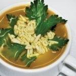 Куриный супчик «АБВГ-дейка» | Chicken Alphabet Soup