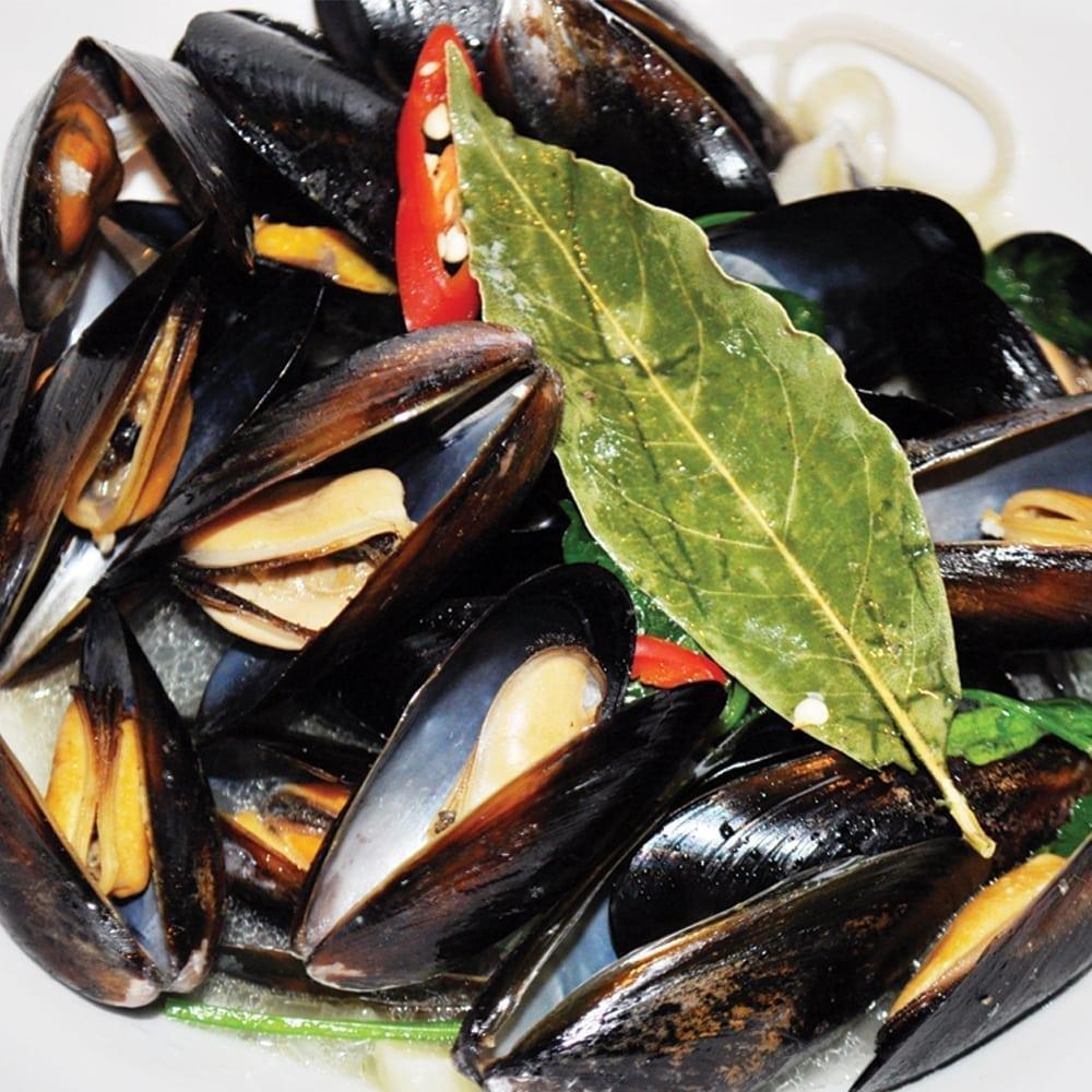 Голубые мидии по-итальянски  | Blue mussels by italian receipt