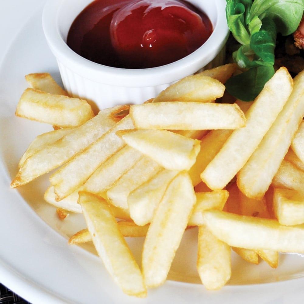 Картофель фри с кетчупом   French fries with ketchup