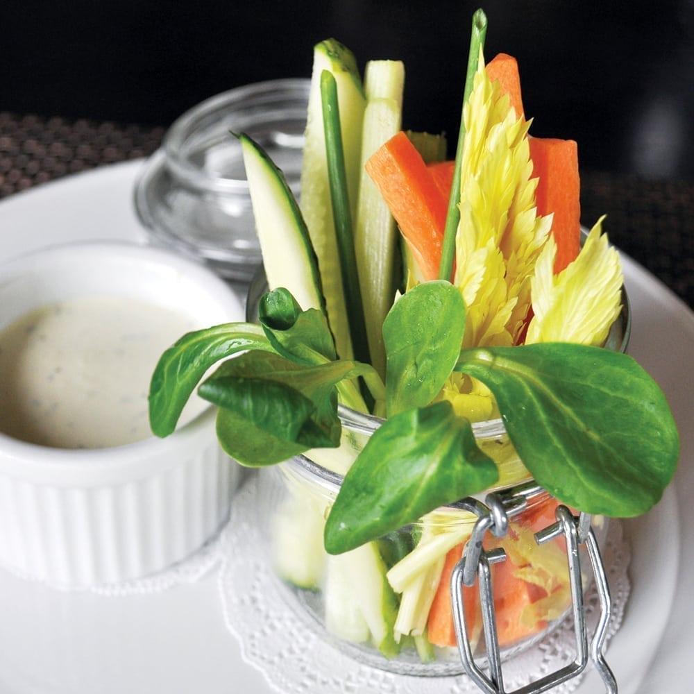 Овощи в стаканчике   Vegetables in a Glass