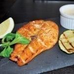 Лосось на гриле | Grilled salmon