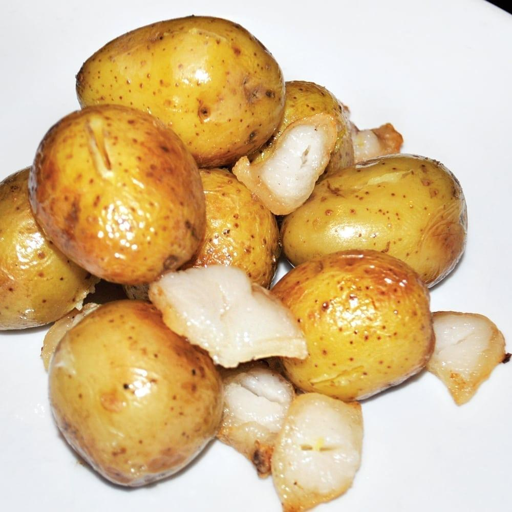 Мини-картофель с курдюком   Mini potato with fat tail