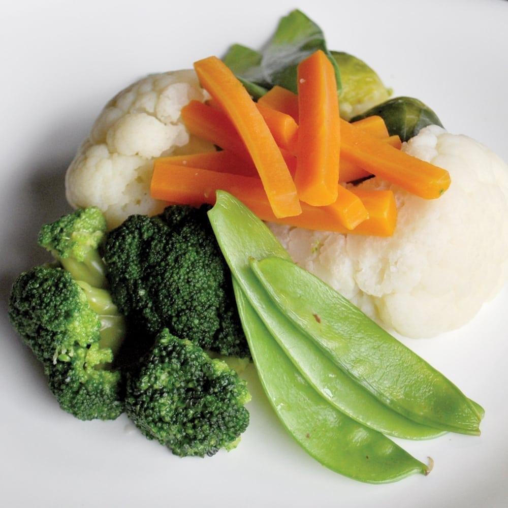 Овощи на пару | Steamed Vegetables