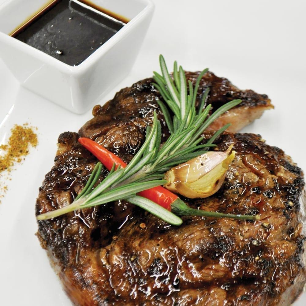 Мраморный стейк «Рибай»   Marbled Ribeye steak