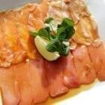 Карпаччо из трёх видов рыб   Carpaccio of three fish species