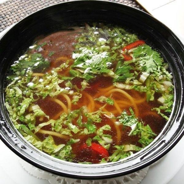 Суп из утки в азиатском стиле