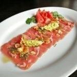 Карпаччо из тунца   Carpaccio of tuna