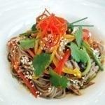 Гречневая лапша с уткой | Buckwheat noodles with duck