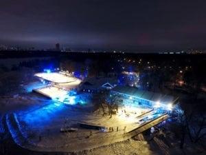Зима в «Поместье-парк»