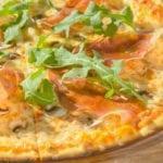 Пицца с прошуто и грибами | Pizza with proscciutto and mushrooms
