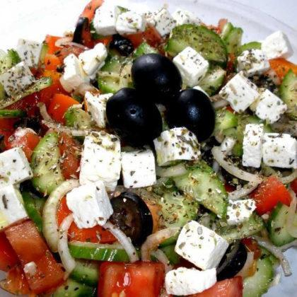 Салат «Шопский» | «Shopsky» salad