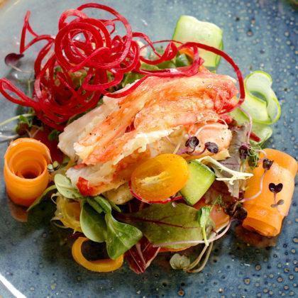 Салат с камчатским крабом | Kamchatka crab salad