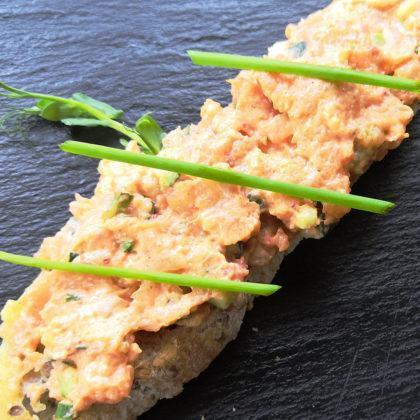 NEW Брускетта с лососем и авокадо | Bruschetta with salmon and avocado