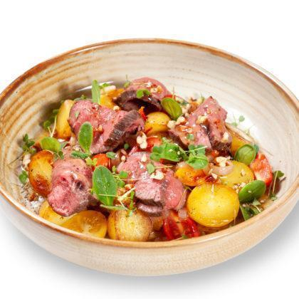 Салат с ростбифом | Roast beef salad