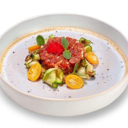 Тёплый салат с тунцом | Warm tuna salad