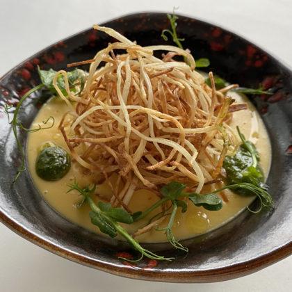 Крем суп из батата
