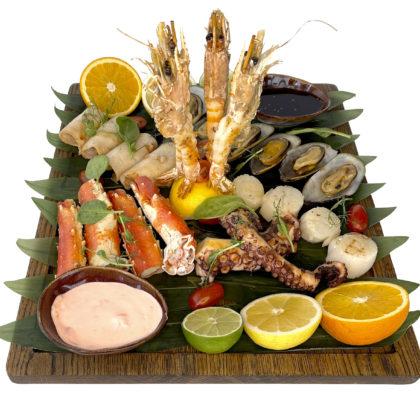 Гриль ассорти из морепродуктов | Mixed seafood grill