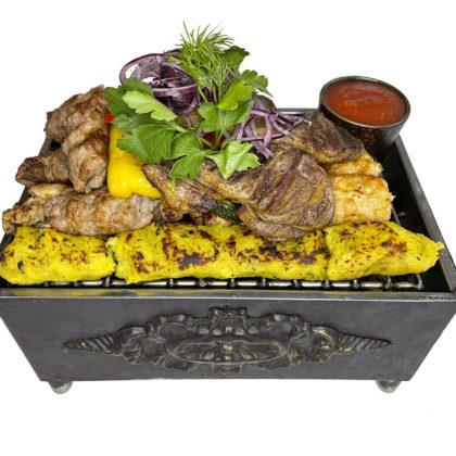 Гриль ассорти «Мангал» | Mixed BBQ grill