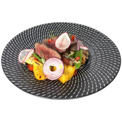 Салат из мраморной говядины / Marbled beef salad