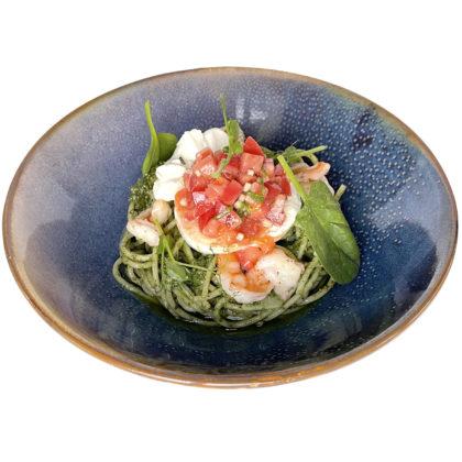 Спагетти с сыром буррата / Spaghetti with burrata cheese
