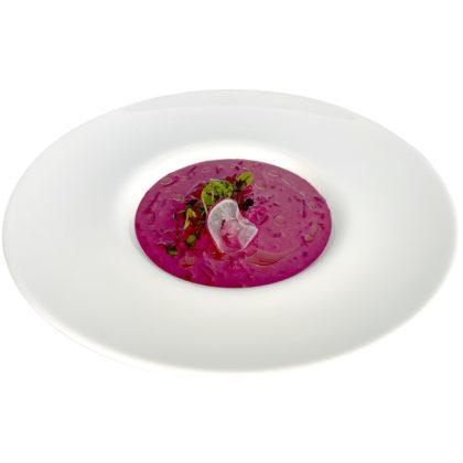 Литовский свекольник / Lithuanian beetroot soup